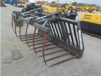 Hydraulic Muck Grab to suit Wheeled Loader - klemme