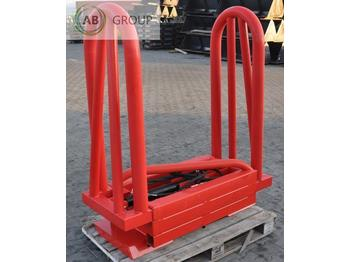 Klemme Metal-Technik Square bale grab/Quaderballenzange /Chwytak do kostek/ Завхат для тюков 2,3 м: afbeelding 1