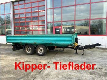 Müller-Mitteltal  Tandemkipper- Tieflader  - kipper aanhangwagen