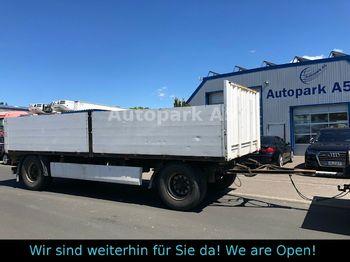 Krone AZP 18 Anhänger Pritsche  - open bak met boorden aanhangwagen