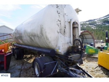 Aluminum bulk trailer - tank aanhangwagen