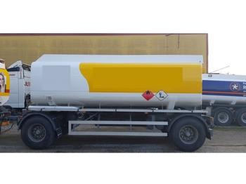 Kässbohrer 22000 Liter Tank Petrol Fuel Diesel ADR - tank aanhangwagen