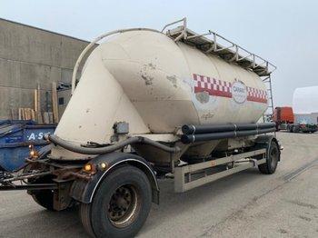 Spitzer Primetshofer   Siloaufbau SA 1625 GAL - tank aanhangwagen