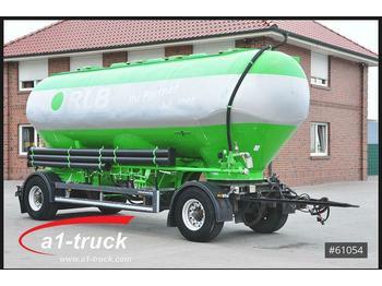 Spitzer SAPI 1833-3M, Silo, 3, 33.000 Liter Schiebedecke  - tank aanhangwagen