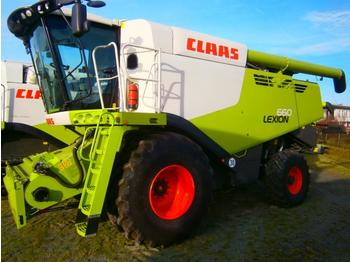Combine harvester Claas LEXION 660