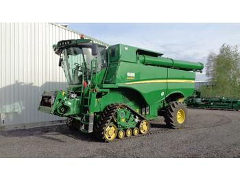 John Deere S690 # 12m - ready for work - combine harvester