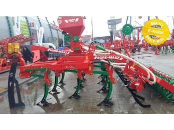 Agro-Masz APR 3 RANGEES DE DENTS NON STOP + ROULEAU DOUBLE U - cultivator