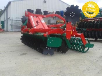 Agro-Masz AT30 24 disque Ø560mm avec rouleau v ring - cultivator