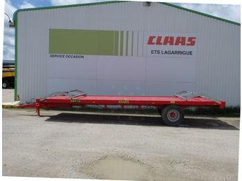 Farm platform trailer LeBoulch 80 S 10