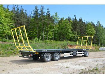 Metal-Fach Ballentransportwagen T 019-Neumaschine  - farm platform trailer