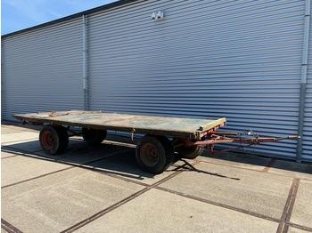 Platte 5 Tons Landbouw Wagen - farm platform trailer