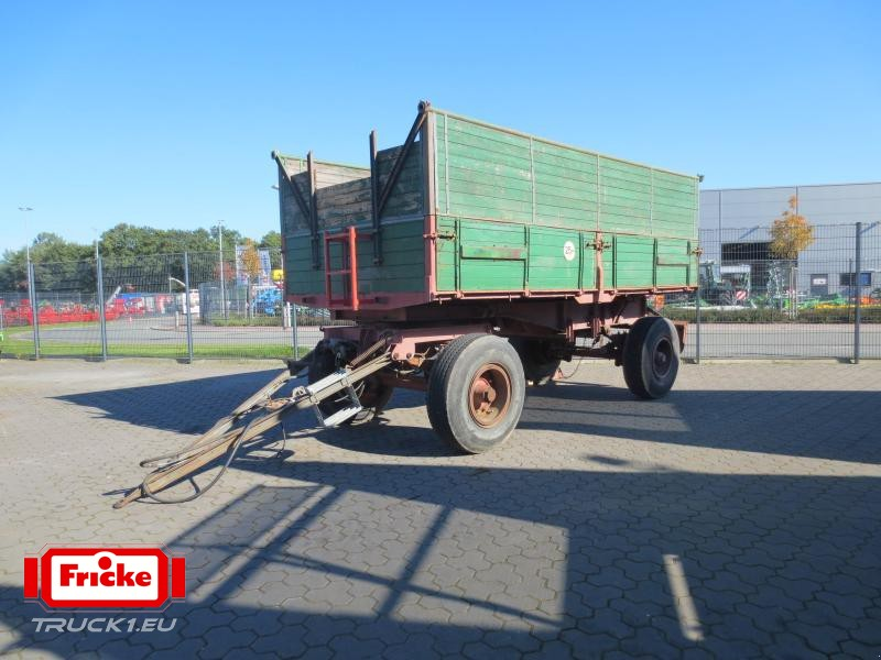 16 to farm tipping trailer dumper from germany for sale. Black Bedroom Furniture Sets. Home Design Ideas