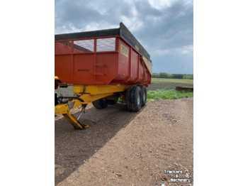 Farm tipping trailer/ dumper Bijlsma Hercules 1500