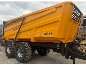 La Littorale 15L - farm tipping trailer/ dumper