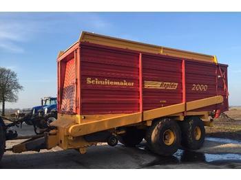 Schuitemaker Rapide 2000 Rapide 2000 - farm tipping trailer/ dumper