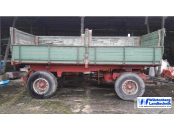 Welger Kipper FK 250 S - farm tipping trailer/ dumper
