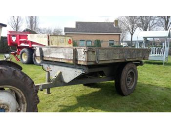 Farm trailer 3 zijdige kipper