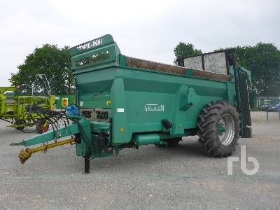 TOLALSA AGRI Manure fertilizer spreader from Germany for sale at