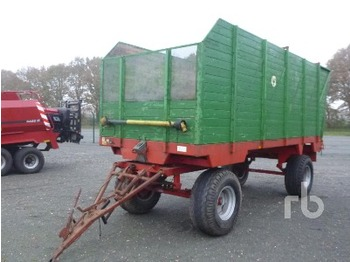 Hawe Wester SLW20R Forage Harvester Trailer - forage harvester