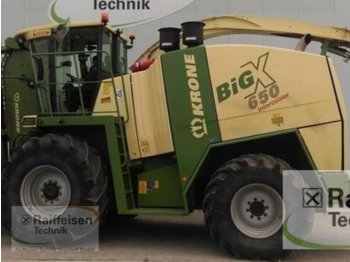 Krone Big X 650 - forage harvester