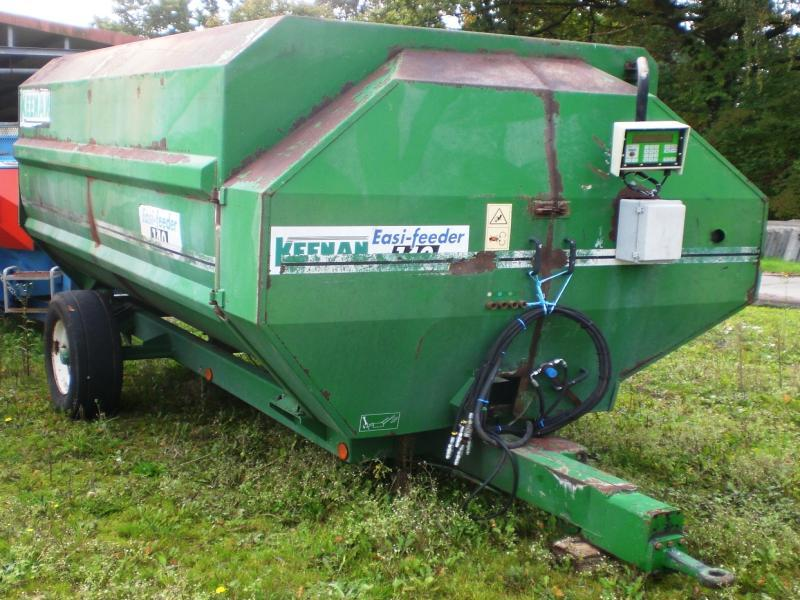 Keenan Easy Feeder 140 forage mixer wagon from Germany for sale at Truck1, ID: 3504914