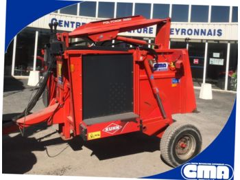 Kuhn POLYCROCK 3850 - forage mixer wagon