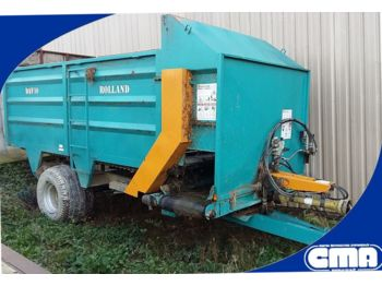 Rolland DAV10 - forage mixer wagon