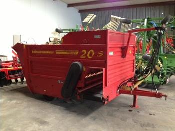 SCHUITEMAKER AMIGO 20 S - forage mixer wagon