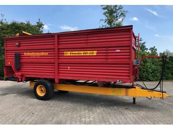 Forage mixer wagon Schuitemaker Feedo 80-18