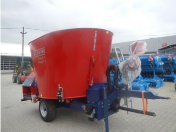 Siloking KOMPAKT 8m³ mit Förderband hinten - forage mixer wagon