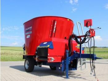 Siloking Kompakt 8m³ mit Förderband vorne - forage mixer wagon