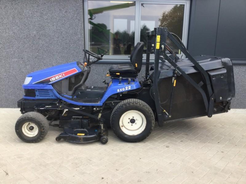 Garden mower tractor grasmaaier ISEKI SGX22 GRAS,BLADOPVANG hoogkiep DIESEL  - Truck1 ID: 2452535
