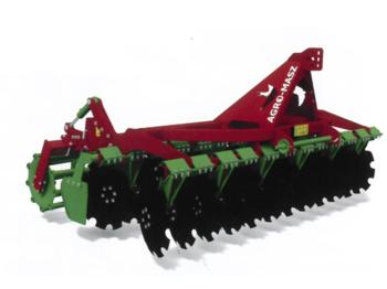 AGRO-MASZ Kuzscheibenegge AT300/510 mit Hitch - harrow