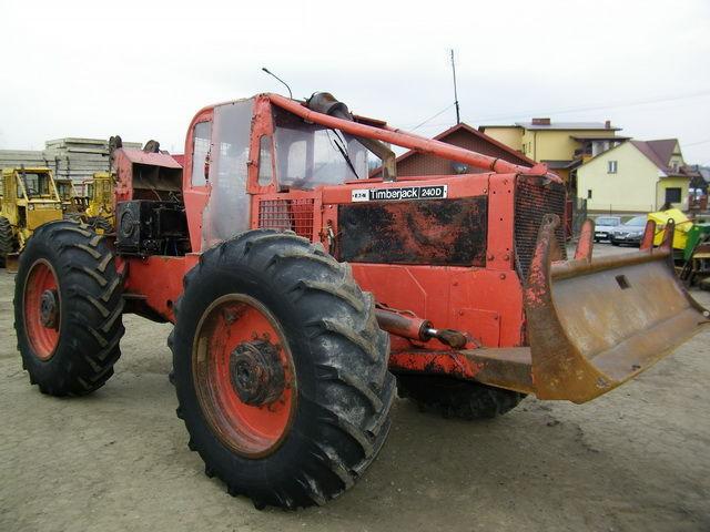 Harvester TIMBERJACK 240 - Truck1 ID: 792355