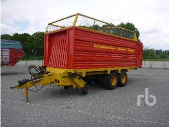 Schuitemaker RAPIDE 100S T/A Forage Harvester Trailer - livestock equipment