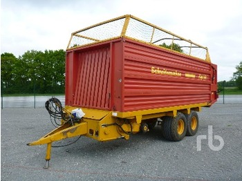 Schuitemaker RAPIDE 100 Forage Harvester Trailer T/A - livestock equipment