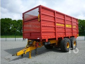 Schuitemaker SIWA 180 Forage Harvester Trailer T/A - livestock equipment