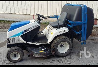 ISEKI SG15 HST Diesel mini tractor from France for sale at
