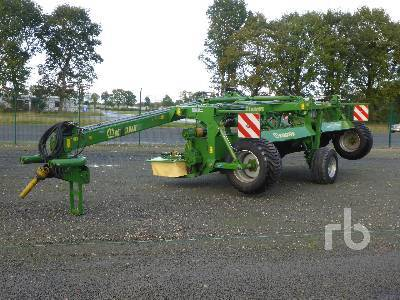 KRONE EASYCUT 6210CV Disc mower from Germany for sale at