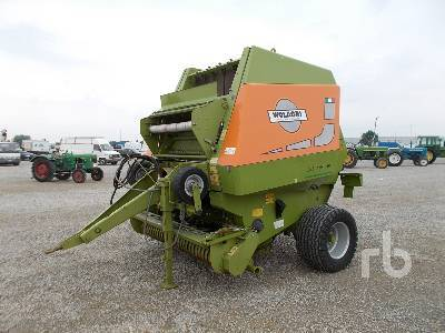 WOLAGRI AS160 Round round baler from Italy for sale at