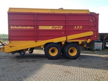 SCHUITEMAKER RAPIDE 155SW OPRAAPWAGEN - self-loading wagon