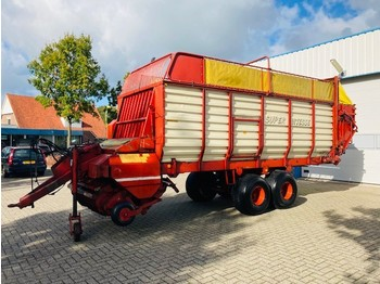 Self-loading wagon  Strautmann Super Vitesse II DO Opraapwagen