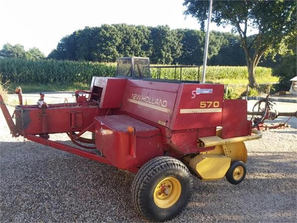 New Holland 570 square baler from Netherlands for sale at