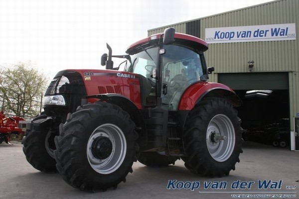 case ih puma 140 tractor from netherlands for sale at. Black Bedroom Furniture Sets. Home Design Ideas