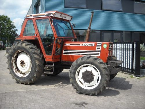 Fiat 100 90 Tractor : Fiat tractor from netherlands for sale at truck
