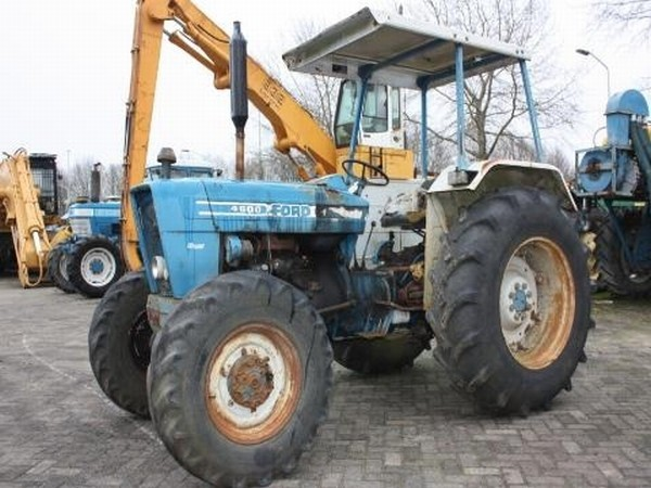 Ford 4600 Tractor Information : Ford tractor