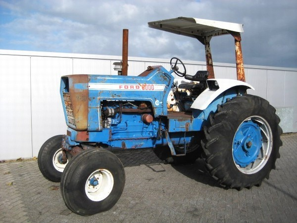 Ford 8000 Tractor Seat Parts : Ford tractor from netherlands for sale at truck id