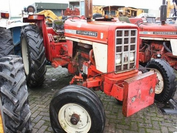 Parts For Ih 574 : International tractor from netherlands for sale at