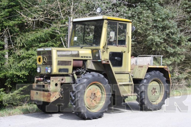 mercedes benz mb trac 700 ex milit r tractor from germany. Black Bedroom Furniture Sets. Home Design Ideas