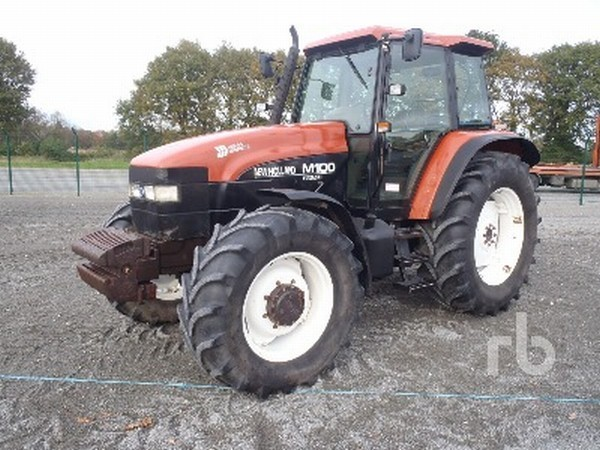 New Holland M100 tractor from Netherlands for sale at Truck1, ID ...